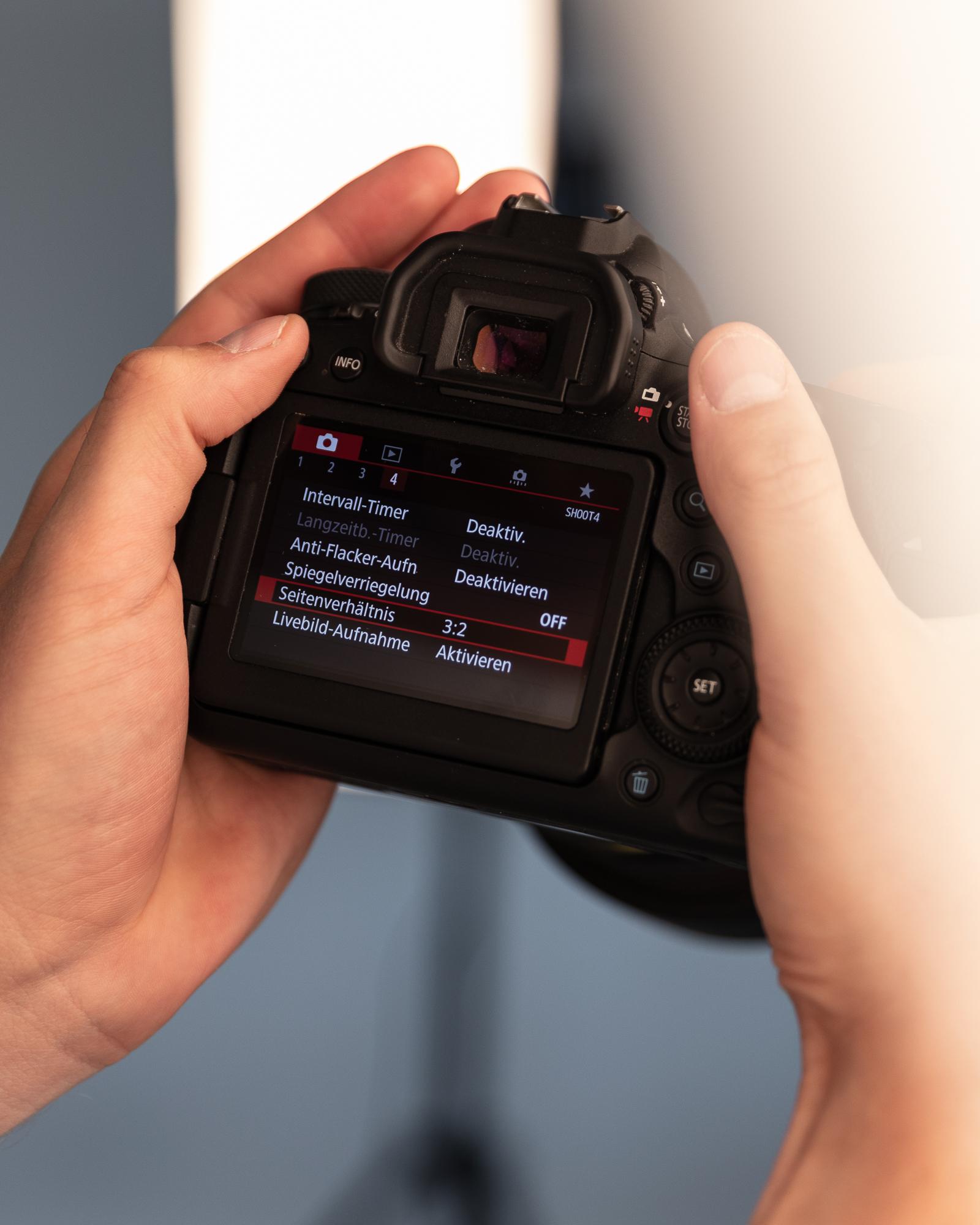 Repetition der wichtigsten Kameraeinstellungen – einfach und verständlich