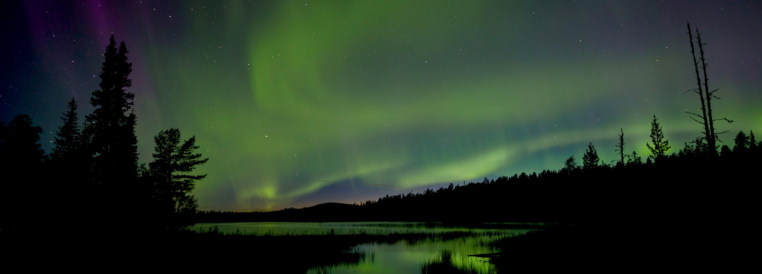 Ab in die unberührte Natur in Lappland